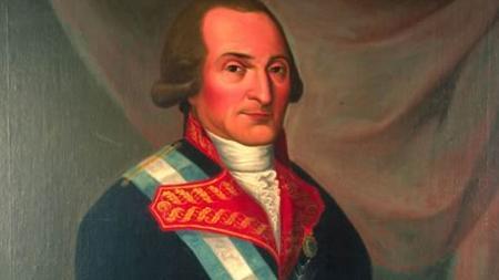 Retrato del marqués de Branciforte de 1798 hecho en México