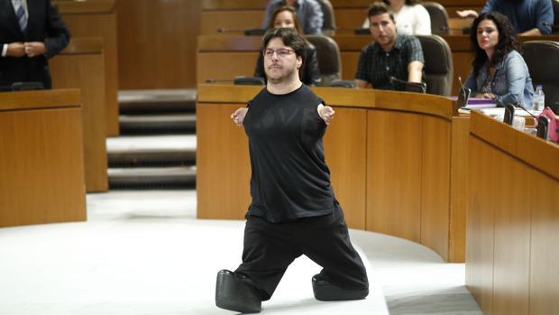 Raúl Gay, nuevo diputado de Podemos en las Cortes de Aragón