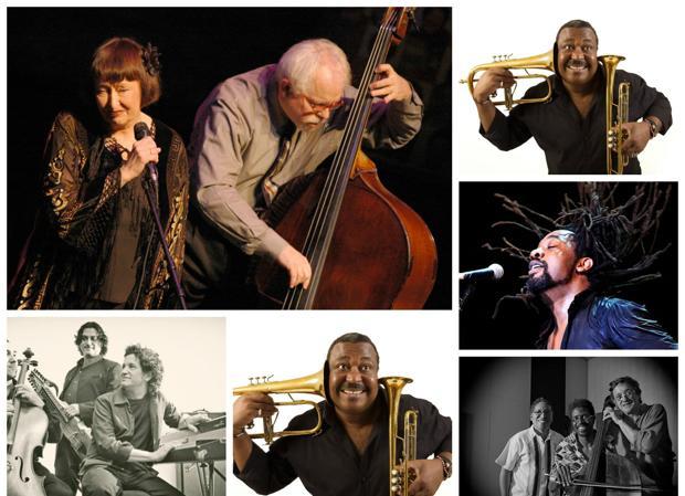Este es el cartel para celebrar el XX aniversario del Festival de Jazz de Toledo