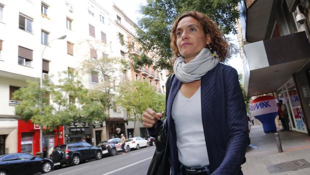 La portavoz adjunta del grupo socialista en el Congreso, Meritxell Batet, en una imagen de archivo