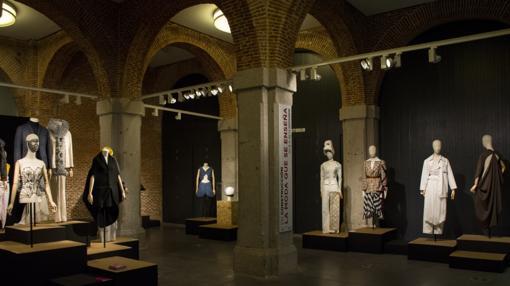 Varias piezas de la exposición
