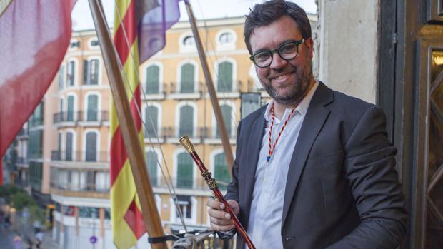 Antoni Noguera, integrante de MÉS