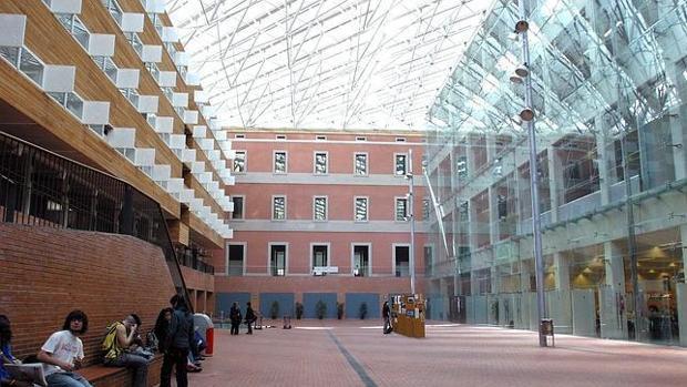 Imagen del campus de la Universidad Pompeu Fabra de Barcelona
