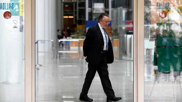 Alfonso Grau, en la Ciudad de la Justicia, en una imagen de archivo
