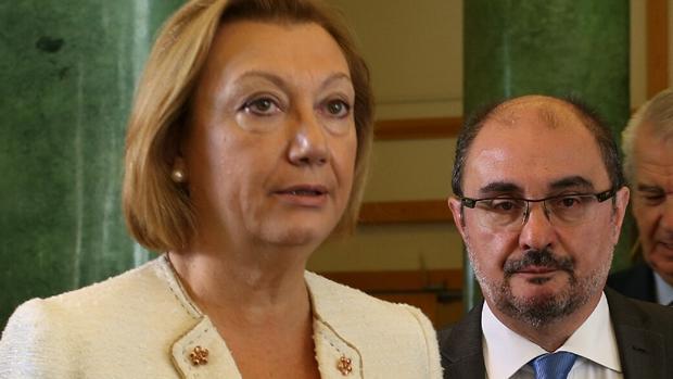 Las dudas planteadas por los auditores afectan a la recta final del gobierno de Luisa Fernanda Rudi y los primeros meses de la legislatura de Lambán