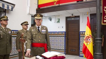 El general Jarne entró en el Ejército en 1977
