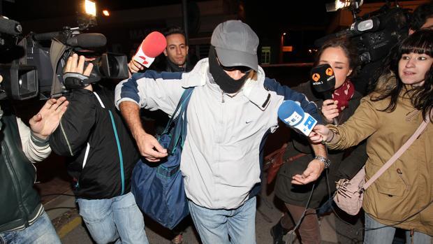 El «violador del ascensor», a la salida de la cárcel en 2013