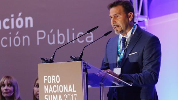El diputado Alejandro Morant, en la apertura del Foro Nacional Suma