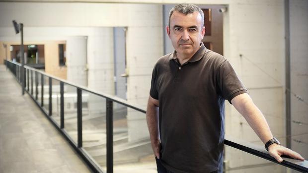 El escritor madrileño Lorenzo Silva