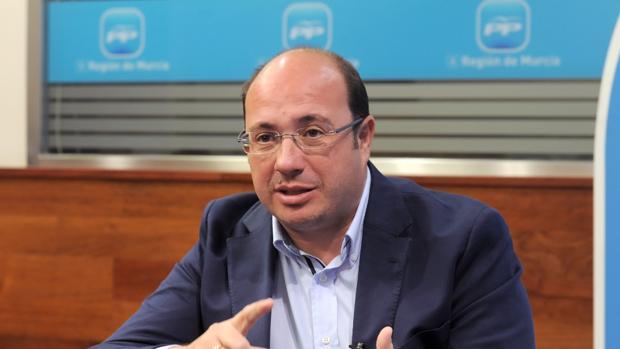El expresidente de Murcia, Pedro Antonio Sánchez