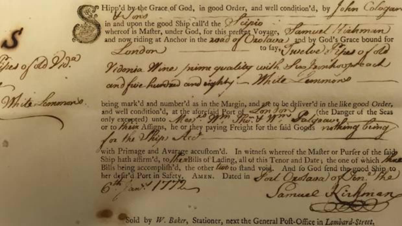 La curiosa historia del contrabando de limones en Canarias en el siglo XVIII