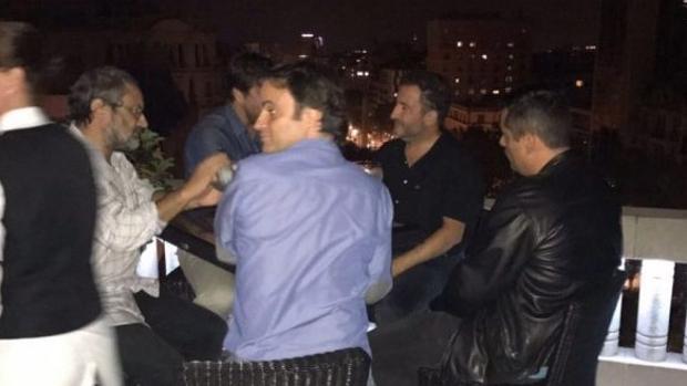Antonio Baños, Jaume Asens y Toni Soler
