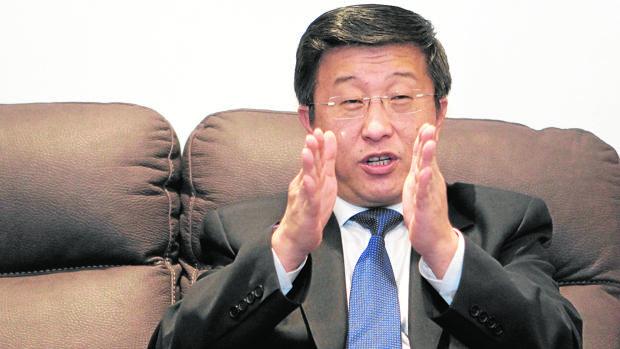Kym Hyok Chol, embajador español en Corea del Norte