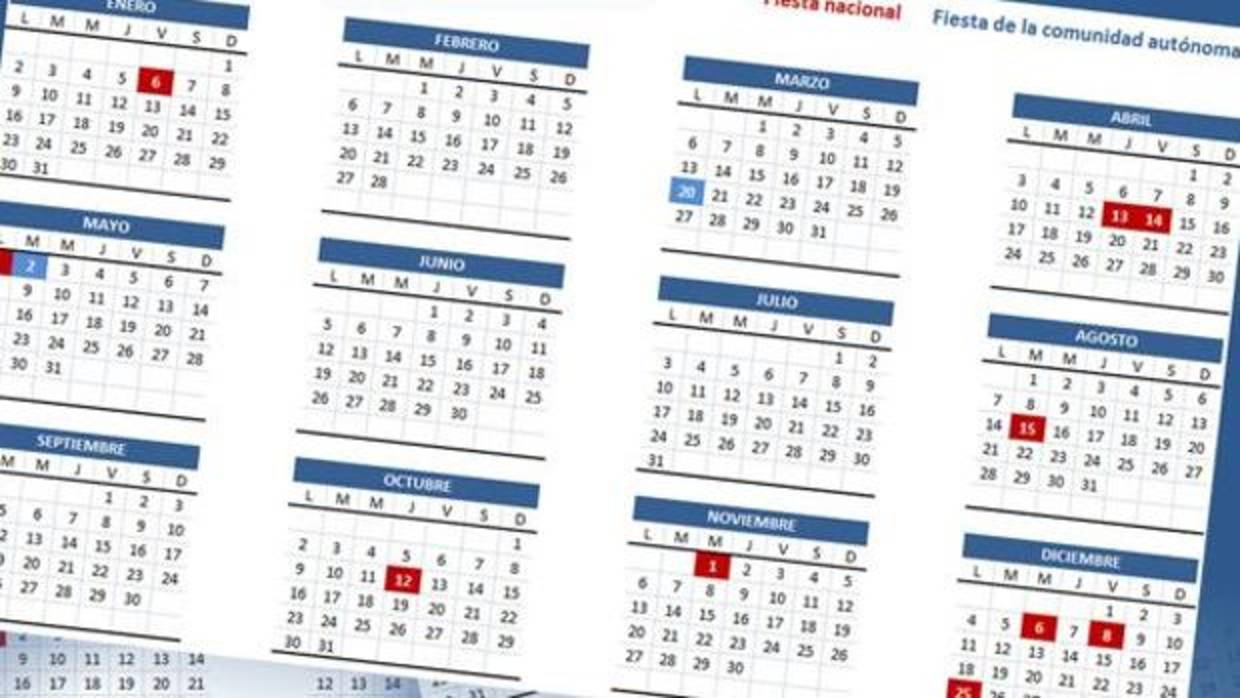 Calendario Laboral De 2018 En Madrid