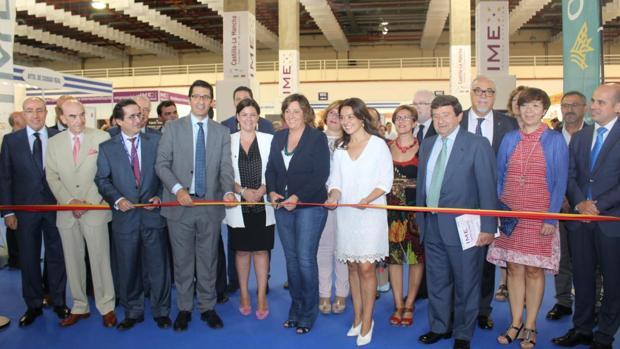 La consejera Patricia Franco en la inauguración de IMEX-Castilla-La Mancha