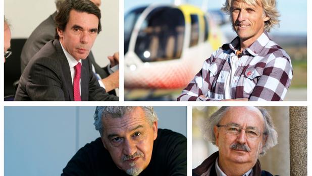 Entre los apoyos expresados públicamente se encuentran el del expresidente José María Aznar, el televisivo Jesús Calleja, el cocinero, el cocinero Paco Torreblanca o el escritor Antonio Colinas