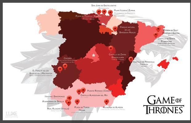 Imagen de la ruta de «Juego de tronos»