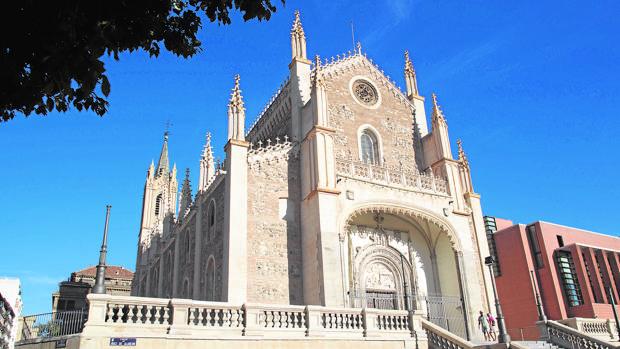 Fachada de la Igleisa de San Jerónimo el Real