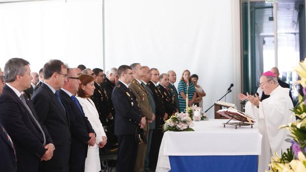 Imagen de la misa celebrada este sábado en Valencia
