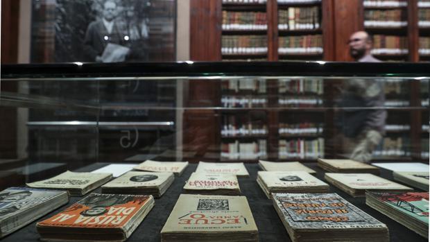 Imatge de la mostra de Juan Negrín a la Nau