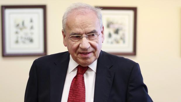 Alfonso Guerra, exvicepresidente del Gobierno