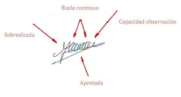 En la imagen se muestra la firma de Carme Forcadell, presidenta del Parlamento catalán