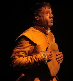 Eugenio Giménez, como el bufón