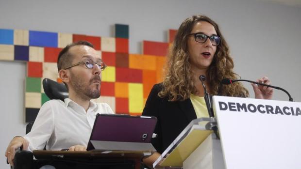 Echenique: «Si Sánchez apoya el 155 y luego hay que lamentar heridos, será en parte responsable»