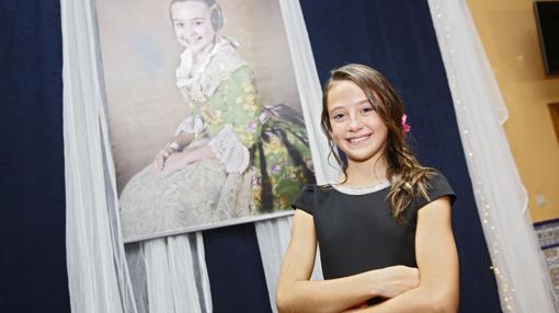 Daniela Gómez de los Ángeles, Fallera Mayor Infantil 2018
