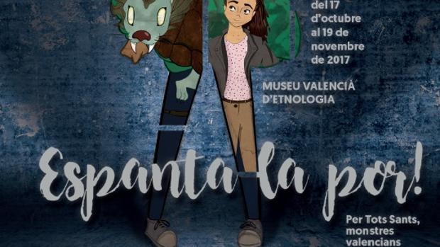 Imatge del cartell d'Espanta la por