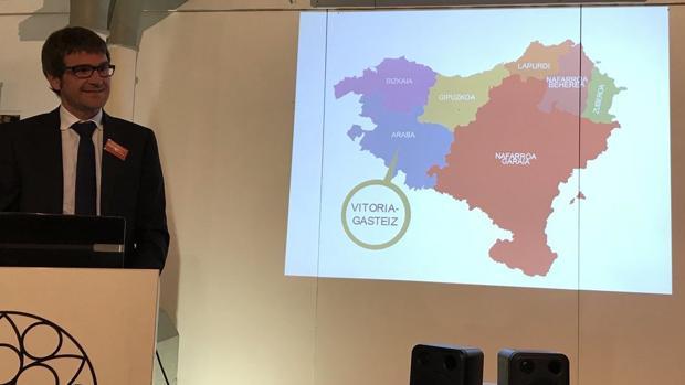 Hemeroteca: El alcalde de Vitoria utiliza un mapa político de «Euskal Herria» para promocionar la ciudad en Belfast | Autor del artículo: Finanzas.com