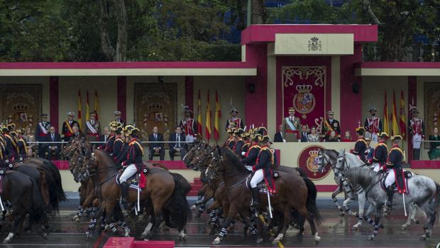 Desfile del 12 de Octubre, el año pasado