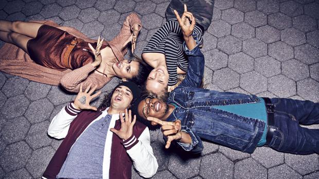 Imagen de campaña de la marca Aéropostale