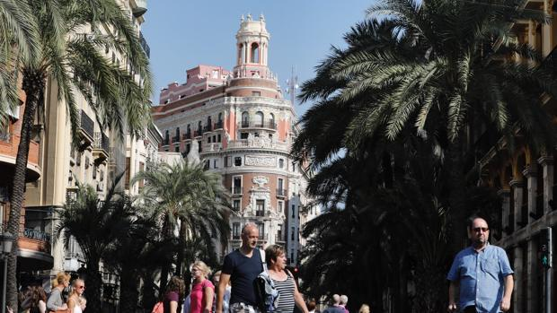 Imagen de la nueva sede de CaixaBank en Valencia