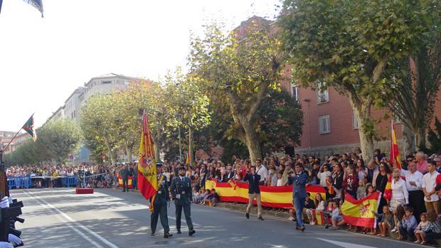 Desfile del 12 de Octurbre en Pamplona