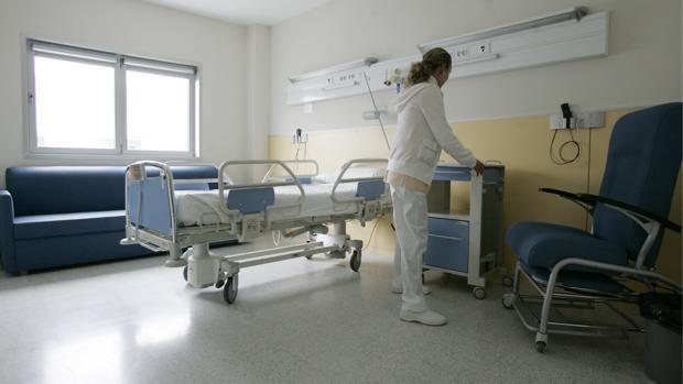 Interior del Hospital del Henares, en Coslada