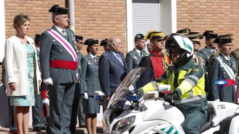 La Guardia Civil de Castilla y León festeja su patrona con el «corazón encogido» por Cataluña