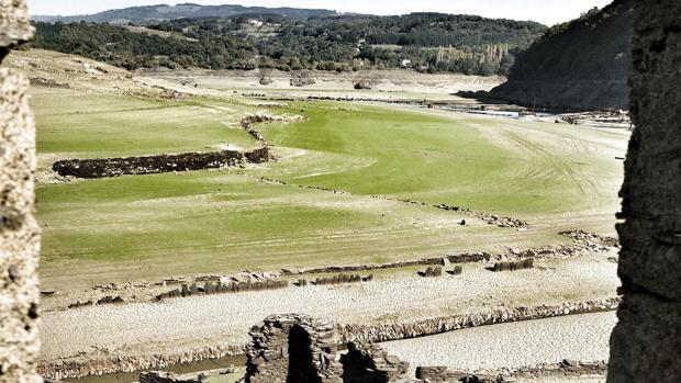 Embalse de Belesar, en el concello lucense de Portomarín