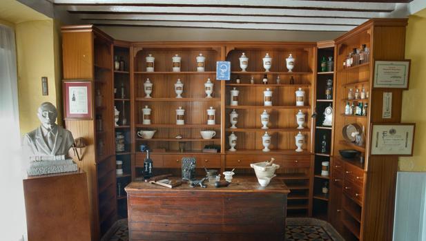 Botica de los académicos de Argamasilla de Alba, donde se reunía Azorín con otros intelectuales