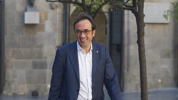 El consejero de Territorio de la Generalitat, Josep Rull
