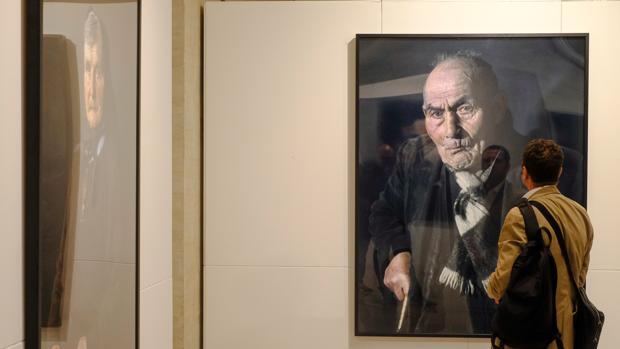 La muestra de Pierre Gonnord se podrá ver en el hall de las Cortes, en Valladolid, hasta el 10 de diciembre
