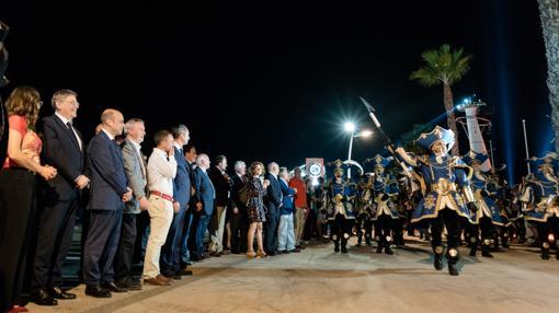 Imagen de las celebraciones en el Race Village