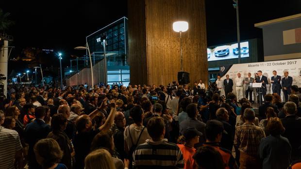 Imagen de la inauguración del Race Villace en Alicante, puerto de salida de la Volvo Ocean Race