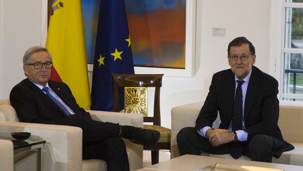 Jean-Claude Juncker y Mariano Rajoy, en una imagen de archivo