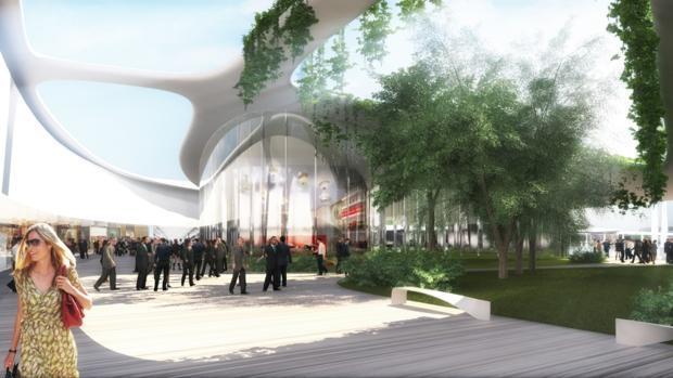 Imagen del centro comercial Open Sky, que se va a construir en Torrejón