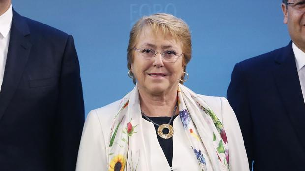 La presidenta chilena, Michelle Bachelet