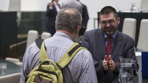 El delegado Carlos Sánchez Mato, en un momento del Pleno del Ayuntamiento de Madrid