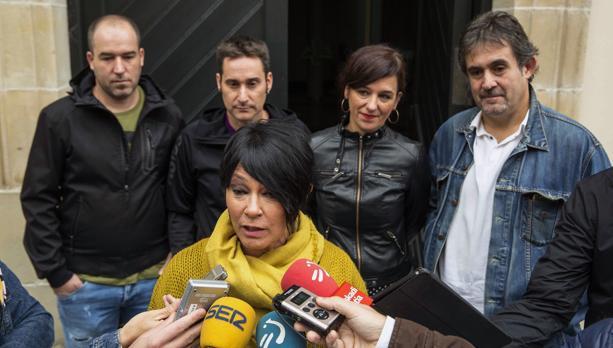 La portavoz de EH Bildu en el Parlamento vasco, Maddalen Iriarte