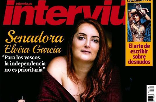 La portada en la que aparece Elvira García