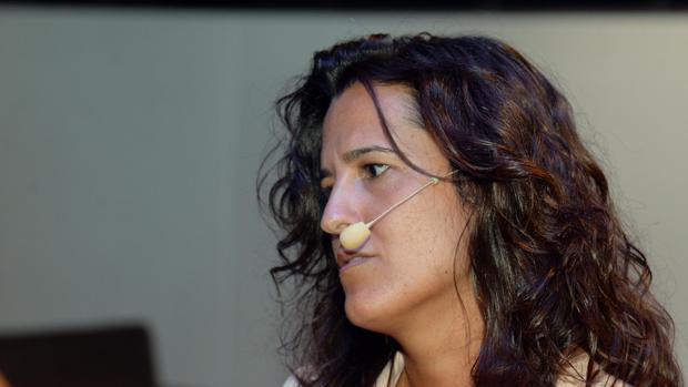 Raquel Tejedor, hoy en el foro TechDay60 celebrado en Burgos
